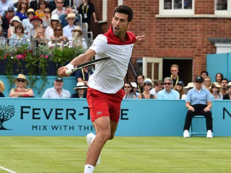 Novak Djokovic Cruises At Queen