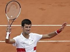 French Open: Novak Djokovic Beats Dutra Silva, Caroline Wozniacki Sees Off Danielle Collins