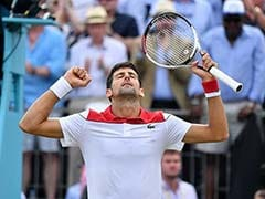 Novak Djokovic Ends 12-Month Drought To Reach Queen's Showpiece