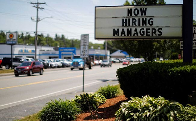 US Job Growth Strong But Unemployment Rate Rises To 4 Per Cent