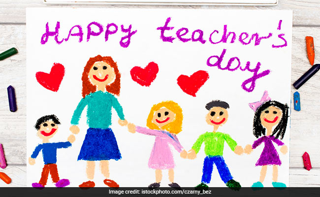 teachers come in this life to give their reward is our smiles
