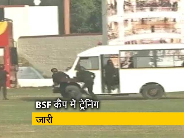 Videos : न्यूज टाइम इंडिया : NSG कमांडो कश्मीर में तैनात