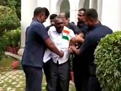 Man Carrying Knife, National Flag Tries To Enter Kerala House In Delhi