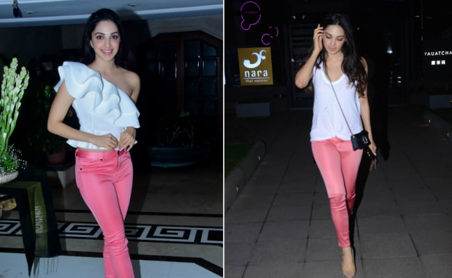 Kiara Advani Makes Her Pink Pants Do Double Duty