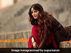 Kriti Sanon's Sister Nupur Is A Fan Of Fusion Fashion