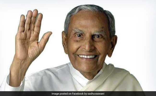 Spiritual Leader Dada JP Vaswani Dies A Month Before His 100th Birthday