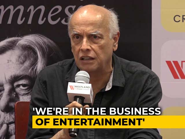 Business Of Entertainment Is Committed To Just Numbers: Mahesh Bhatt