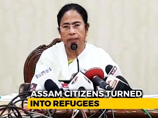 "Video : ""Divide-And-Rule"": Mamata Banerjee Slams Assam's Draft Citizens' List"