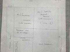 In Court, DMK's Hand-Drawn Plan For Karunanidhi's Marina Beach Burial