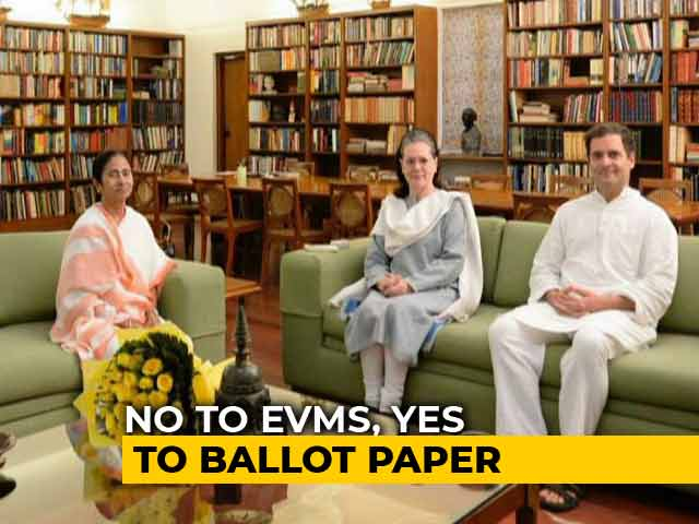 Video : Ballot Papers For 2019: Opposition's Takeaway From Mamata Banerjee