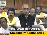 "Video : ""<i>Dharm Yudh</i>,"" Says TDP, Architect Of No-Trust Motion"