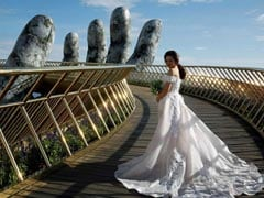 What's Special About This Vietnam Bridge? The Giant Hands Holding It Up