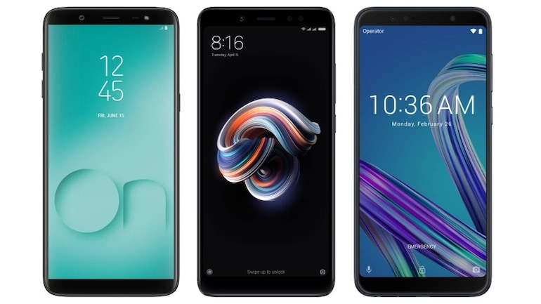 Samsung Galaxy On8 (2018), Redmi Note 5 Pro और Zenfone Max Pro M1 में कौन बेहतर?