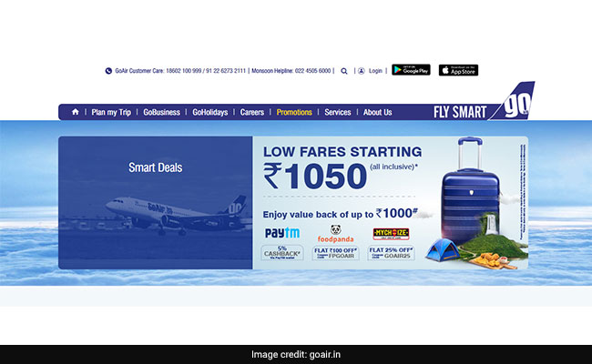 GoAir SpiceJet Offer Discount On Domestic Flight Tickets