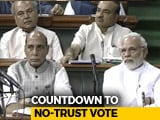 Video : Confident Centre Faces No-Confidence Motion, Big Debate Today