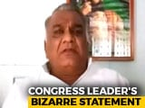 "Video : Rs. 5 Lakh For ""Cutting Off BJP Lawmaker's Tongue"", Says Congress Leader"