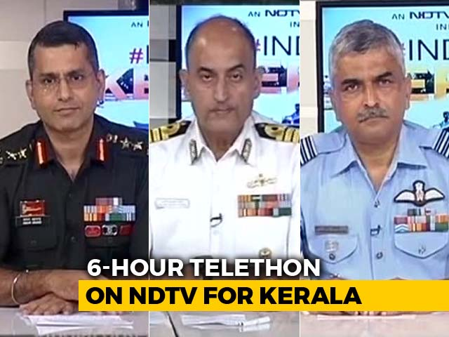 Video : How The Armed Forces Led Rescue Efforts In Kerala