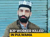 Video : BJP Worker Shot Dead By Terrorists In Jammu And Kashmir