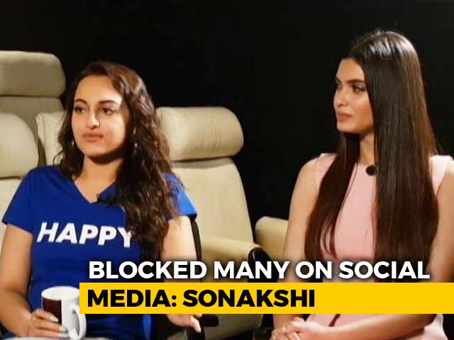 Video : Sonakshi Sinha & Diana Penty On Dealing With Trolls