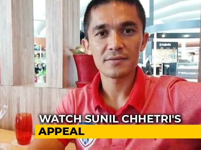 Video: Sunil Chhetri Appeals People To Come Together And Rebuild Kerala