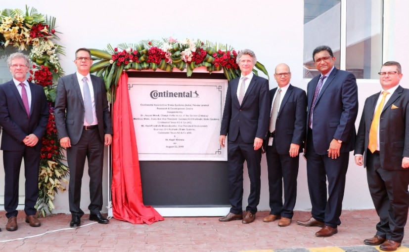 Continental India has inaugurated a new R&D facility for its braking systems division