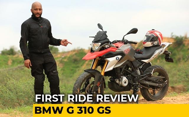 BMW G 310 GS First Ride