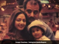 On Sridevi's Birth Anniversary, Daughter Janhvi Kapoor Dug Into Family Photo Archive