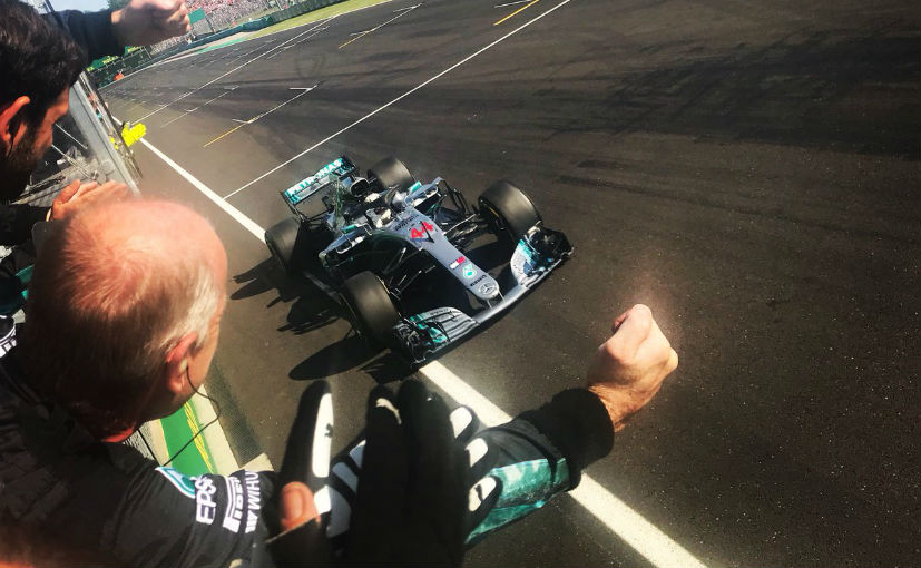 Bottas penalised for Ricciardo clash