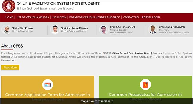 Bihar college admission 2018 bseb begins online registration for bseb begins online registration for degree college admission at 10 universities in bihar thecheapjerseys Image collections