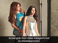 हॉट पैंट में दिखा अमिताभ बच्चन की नातिन का ग्लैमर, मां के साथ मदमस्त अंदाज Viral