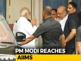 Video : Atal Bihari Vajpayee Remains On Life Support, PM Modi Visits Him Again