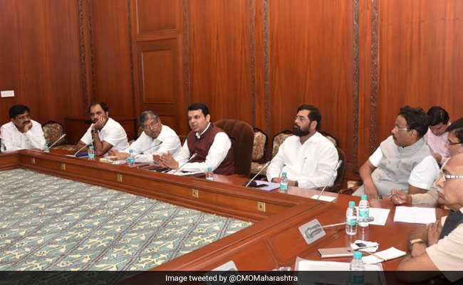 Devendra Fadnavis Meets Maratha Community Members Amid Quota Stir