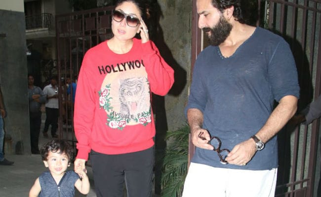 After Inaaya, Its Taimur's Turn To Visit Cousin's Home With Parents Kareena Kapoor And Saif Ali Khan