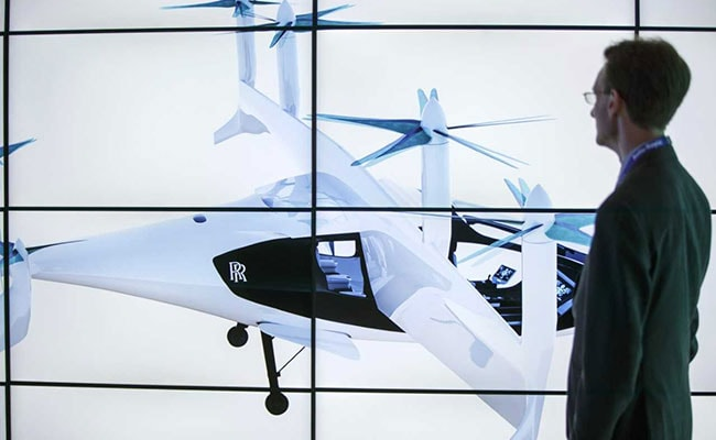 Rolls-Royce Takes The Fight To Uber, Google In Flying Car Race
