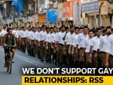 "Video : ""Homosexuality Not A Crime, But It's Not Natural"": RSS On Verdict"