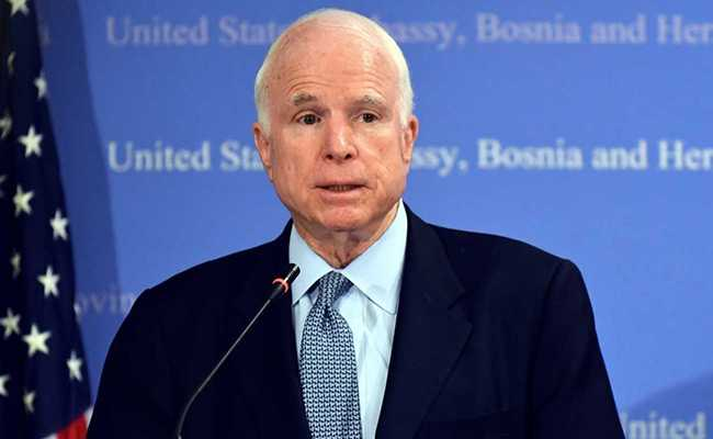 अमेरिकी सीनेटर जॉन मैक्केन का निधन, वियतनाम युद्ध के नायक के तौर पर थी पहचान