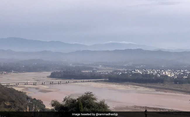 CCTV Cameras Installed To Stop Illegal Mining In Jammu's Tawi River