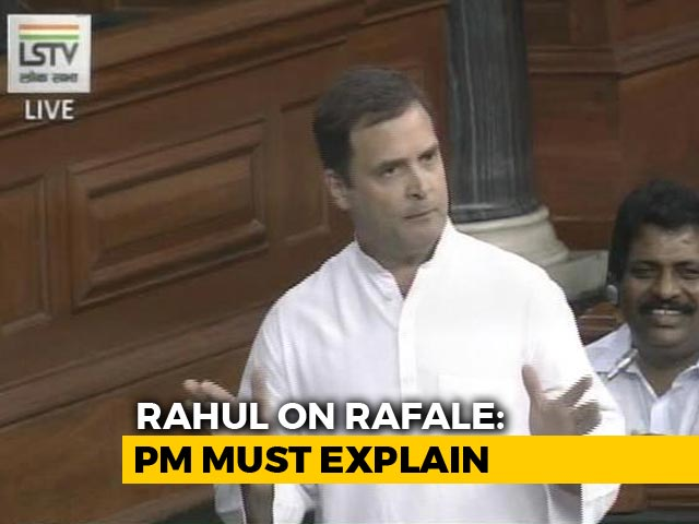 Video : Government Lied To Country On Rafale Deal: Rahul Gandhi's Attack On NDA
