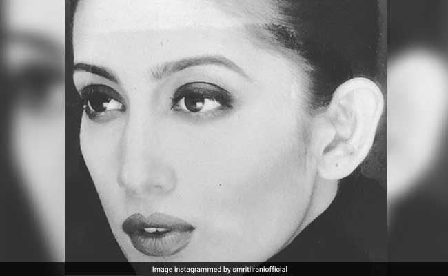Smriti Irani Or Husband Zubin Irani, Who Captioned Her Throwback Pic Better?