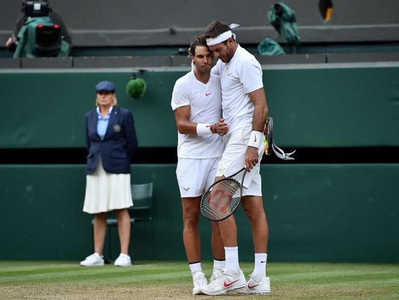 Rafael Nadal, Juan Martin Del Potro And Roger Federer Prove There Is Grace Off The Court At Wimbledon, Too