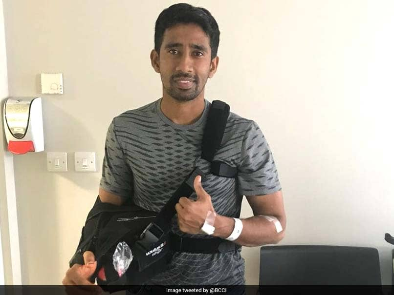 Wriddhiman Saha Returns After Surgery, Hopeful Of Making A Comeback For Australia Tour