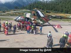 Over 200 Indian Pilgrims Stuck In Nepal Due To Bad Weather Evacuated