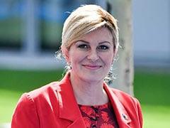 World Cup 2018: Croatian President Kolinda Grabar-Kitarovic