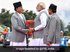 PM Modi Arrives In Nepal To Attend Regional Summit BIMSTEC
