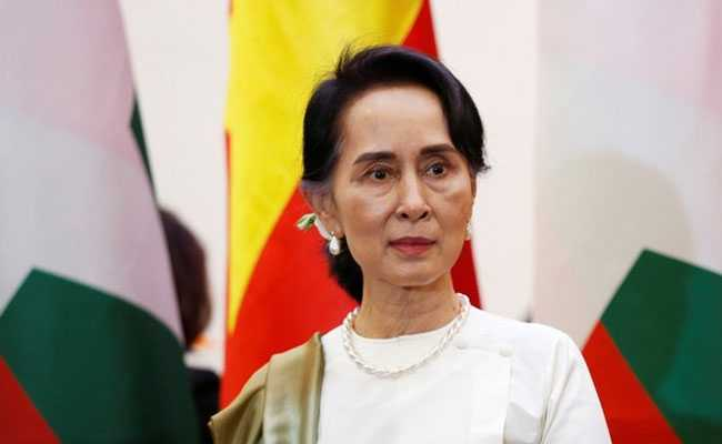 Myanmar's Aung San Suu Kyi In Good Health Under House Arrest: Party