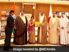 Sushma Swaraj Meets Bahrain Leaders, Discusses Ways To Improve Ties