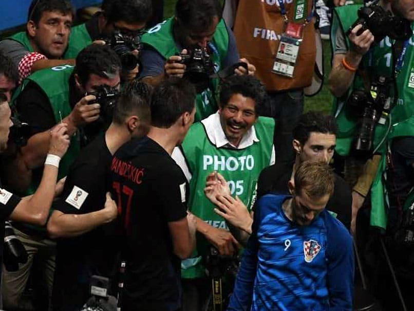 World Cup 2018: Photographer Becomes Part Of Croatia World Cup Goal Celebration
