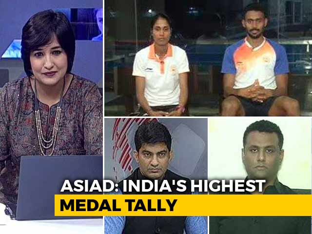 Video : Athletes On India's Best-Ever Asiad