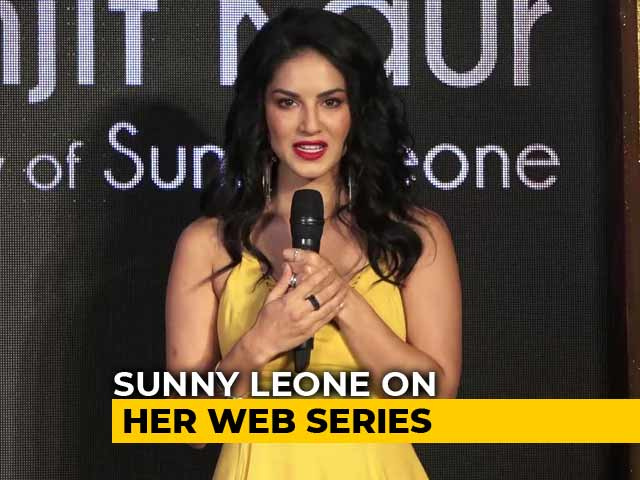 Sunny Leone On Her Web Series Karenjit Kaur - The Untold Story Of Sunny Leone