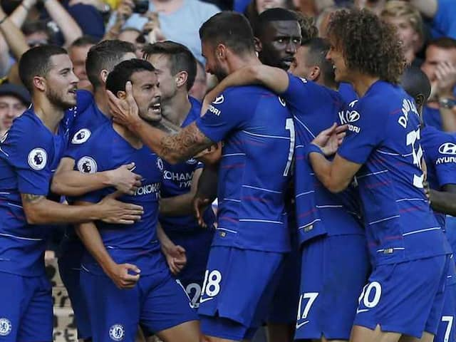 Premier League: Pedro, Eden Hazard On Target As Chelsea Cruise